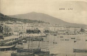 Ajaccio v. 1922  Le Port  (53718)