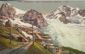 Bern-Wallis v. 1912 Jungfraubahn - Station