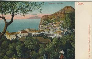 Capri v. 1916  Panorama e Vesuvio  (53726)