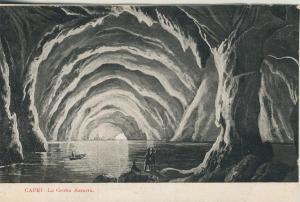 Capri v. 1919  La Grotta Azzurra   (53727)
