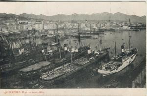 Napoli - II. v. 1915  Porto mercantille  (53736)