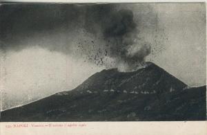 Napoli - II. v. 1906  Vesuvio - E uzione 7 aprile 1906  (53738)