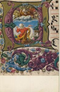 Gott und Moses v. 1963 siehe Rückseite !!  (53781)