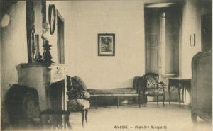 Ajaccio v. 1910  Chambre Bonaparte  (53850)