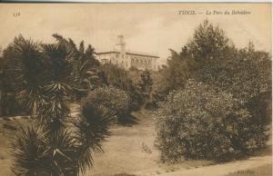 Tunis v. 1910  La Parc du Belvedere   (53859)