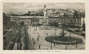 Lisboa v. 1959  Praca D Pedro IV  (53925)
