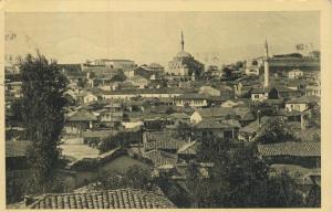 Skopje v. 1937  Teil-Stadt-Ansicht  (53935)