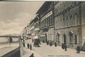 Firenze v. 1908  Lung`Arno Corsini  (53991)