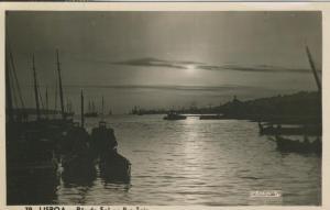 Lisboa v. 1949  Por de Sol no Rio Tejo  (53999-5)