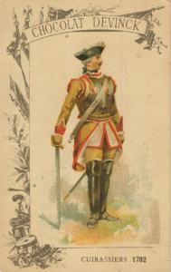 Chocolat Devinck -- Cuiraasiers 1762  (54099-118)