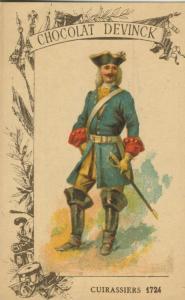 Chocolat Devinck -- Cuirassiers 1724  (54099-120)