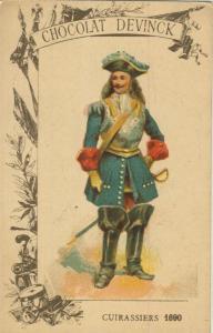 Chocolat Devinck -- Cuirassiers 1690  (54099-121)