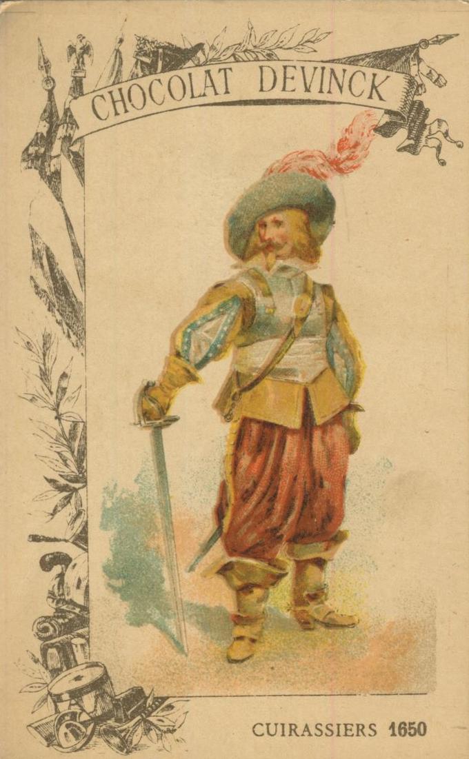 Chocolat Devinck -- Cuirassiers 1650  (54099-123) 0