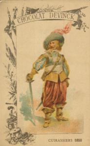 Chocolat Devinck -- Cuirassiers 1650  (54099-123)