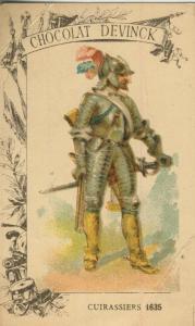 Chocolat Devinck -- Cuirassiers 1635  (54099-124)