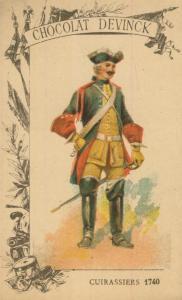 Chocolat Devinck -- Cuirassiers 1740  (54099-125)