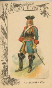 Chocolat Devinck -- Cuirassiers 1724  (54099-126)