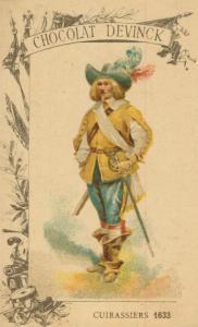 Chocolat Devinck -- Cuirassiers 1633  (54099-127)