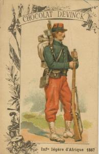 Chocolat Devinck -- Inf. legere d`Afrique 1867  (54099-133)