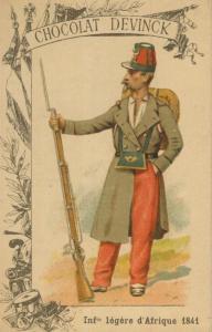 Chocolat Devinck -- Inf. legere d`Afrique 1841  (54099-135)