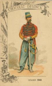 Chocolat Devinck -- Spahis 1845  (54099-138)