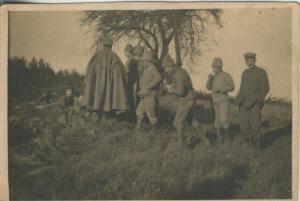 1. Weltkrieg v. 1917  siehe Rückseite - - die Beschreibung !!  (54099-151)