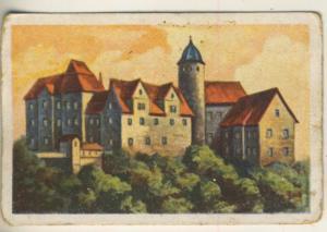 Brinkmann Tabak - Sammelbild Serie 3 (Thüringen) Bild Nr. 9 -- Friedensburg bei Leutenburg  (50681)