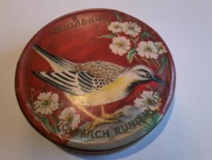 Waldbaur-Schokoladen-Dose -- Vollmilch Rund in Rund (50683)