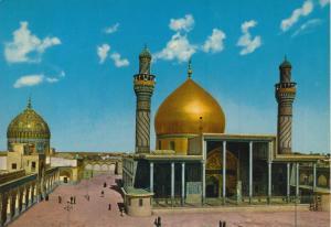 Samarra v. 1969 Das heilige goldene Mausoleum und die Altare des Iman Ali-Al-Hadi und des Iman Hasan Al-Askari  (55210)