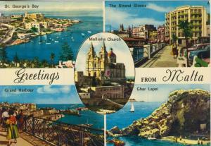 Malta v. 1970  5 Ansichten  (55261)