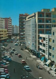 Jeddah v. 1978  Strassensicht im Centrum  (55323)