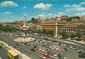 Lisboa v. 1974  Teil-Stadt-Ansicht  (55359)
