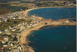 Le port et les plages de Lomener v. 1974  Siedlung & Strand  (55385)
