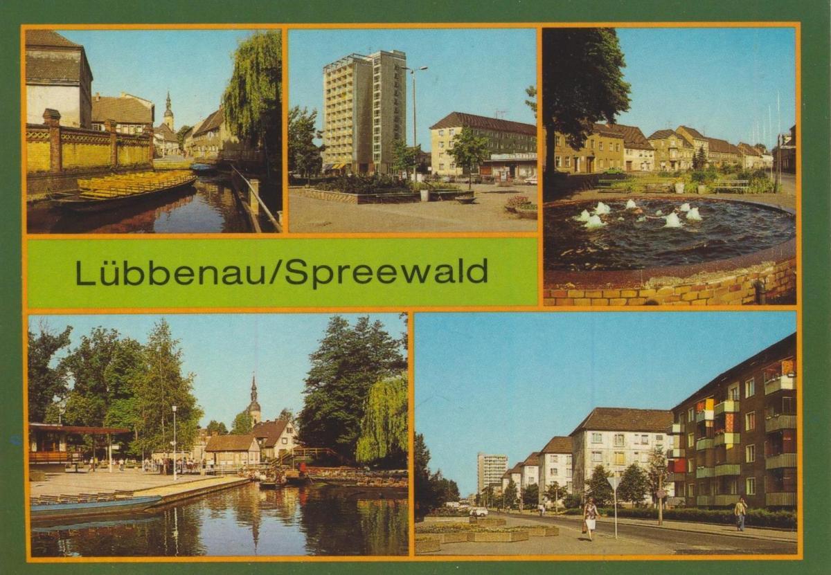 Karte Spreewald Lubbenau.Plz Lubbenau Spreewald Mit Karte Postleitzahlen 03222