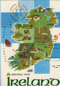Ireland v. 1974  Insel-Ansicht  (55412)