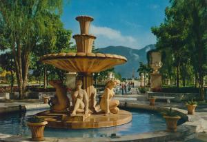 Caracas v. 1974  Fuente en el Paseo de los Proceres  (55420)