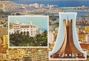 Algier v. 1974  3 Stadtansichten  (55443)