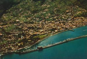 Madeira v. 1968  Vista aerea do Funchal  (55451)
