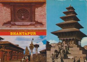 Bhaktapur v. 1974  3 Ansichten  (55492)