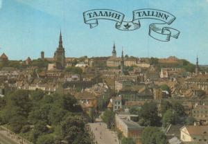 Tallinn v. 1976  Teil-Stadt-Ansicht  (55075)