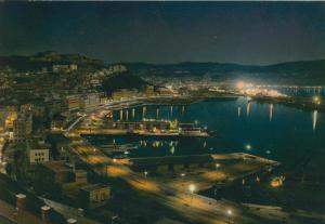 Ancona v. 1976  Panorama bei Nacht (56032)