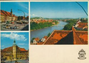 Maribor v. 1976  3 Stadt-Ansichten  (56033)