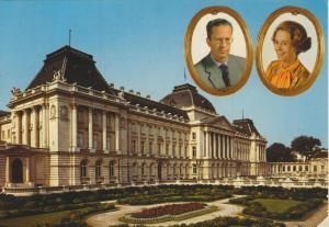 Brussels v. 1984  Palais Royal - König und Königin  (56037)