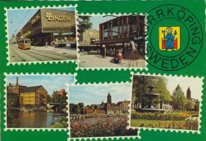 Norrköping v. 1976  5 Stadt-Ansichten (56045)