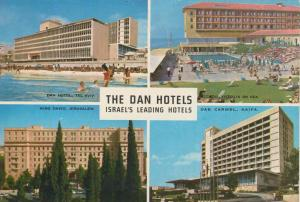 Isarel`s Dan Hotels v. 1976  Tel Aviv,Jerusalem,Herzlia,Haifa -- 4 Hotels (56086-1)