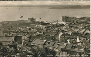 Lisboa v. 1965  Teil-Stadt-Ansicht  (56089)
