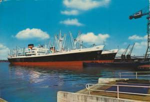 Antwerpen v. 1968  Schiffe am Kai   (56670)