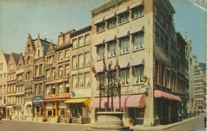 Antwerpen v. 1968  Handschoen Markt  (56699)