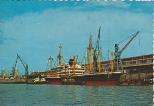 Antwerpen v. 1965  Der Hafen mit Sondermarken  (56800)