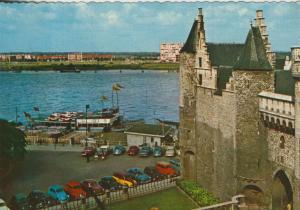 Antwerpen v. 1965 Het Steen mit Sondermarken  (56801)